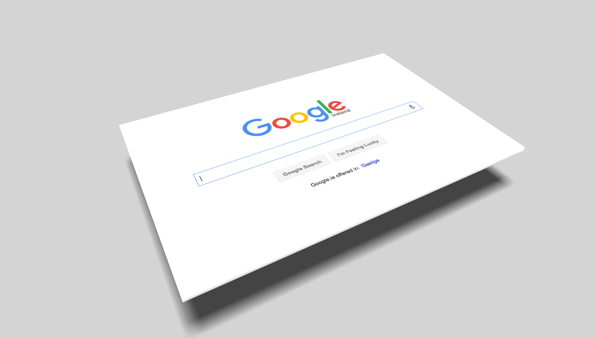 above-design-google-search-home-page